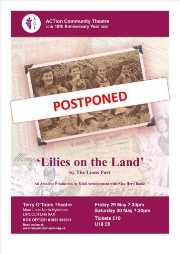 Lilies postponed